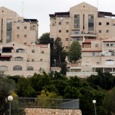 An Israeli settlement.