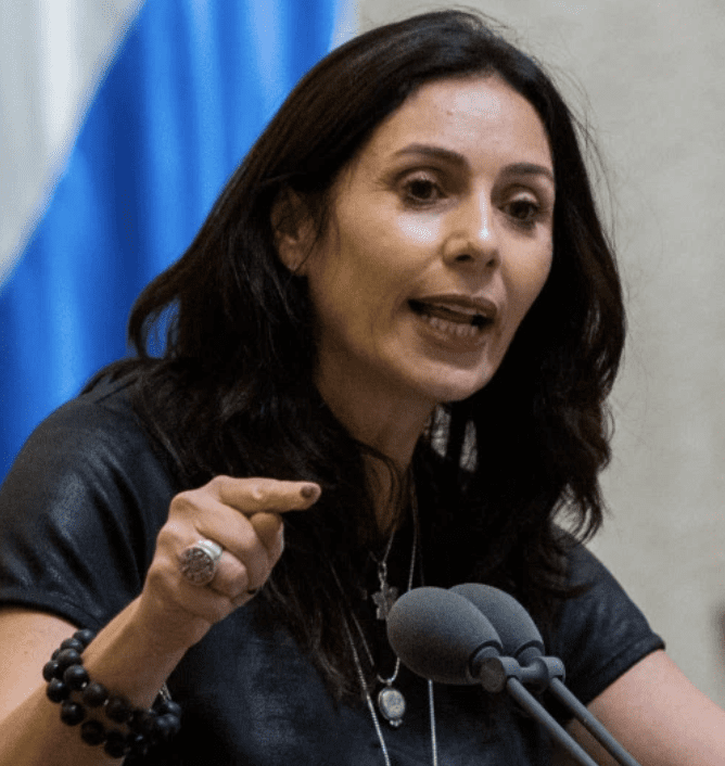 """Miri Regev described the refugees as """"a cancer in our body."""""""