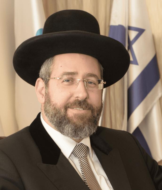 Ashkenazi Chief Rabbi David Lau