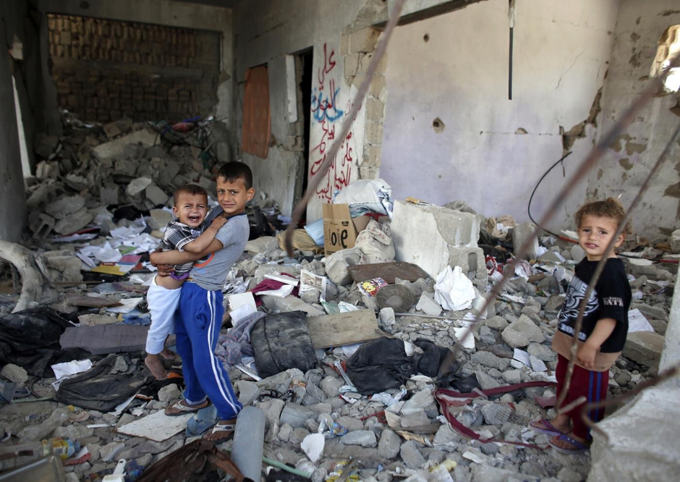 """From an  article  on Middle East Eye entitled """"Permanent Traumatic Stress Disorder in Gaza"""""""