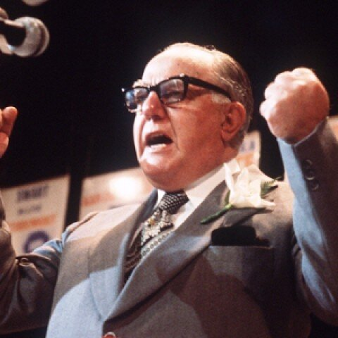 John Vorster, South Africa's prime minister from 1966 to 1978. (AFP/Getty Images)