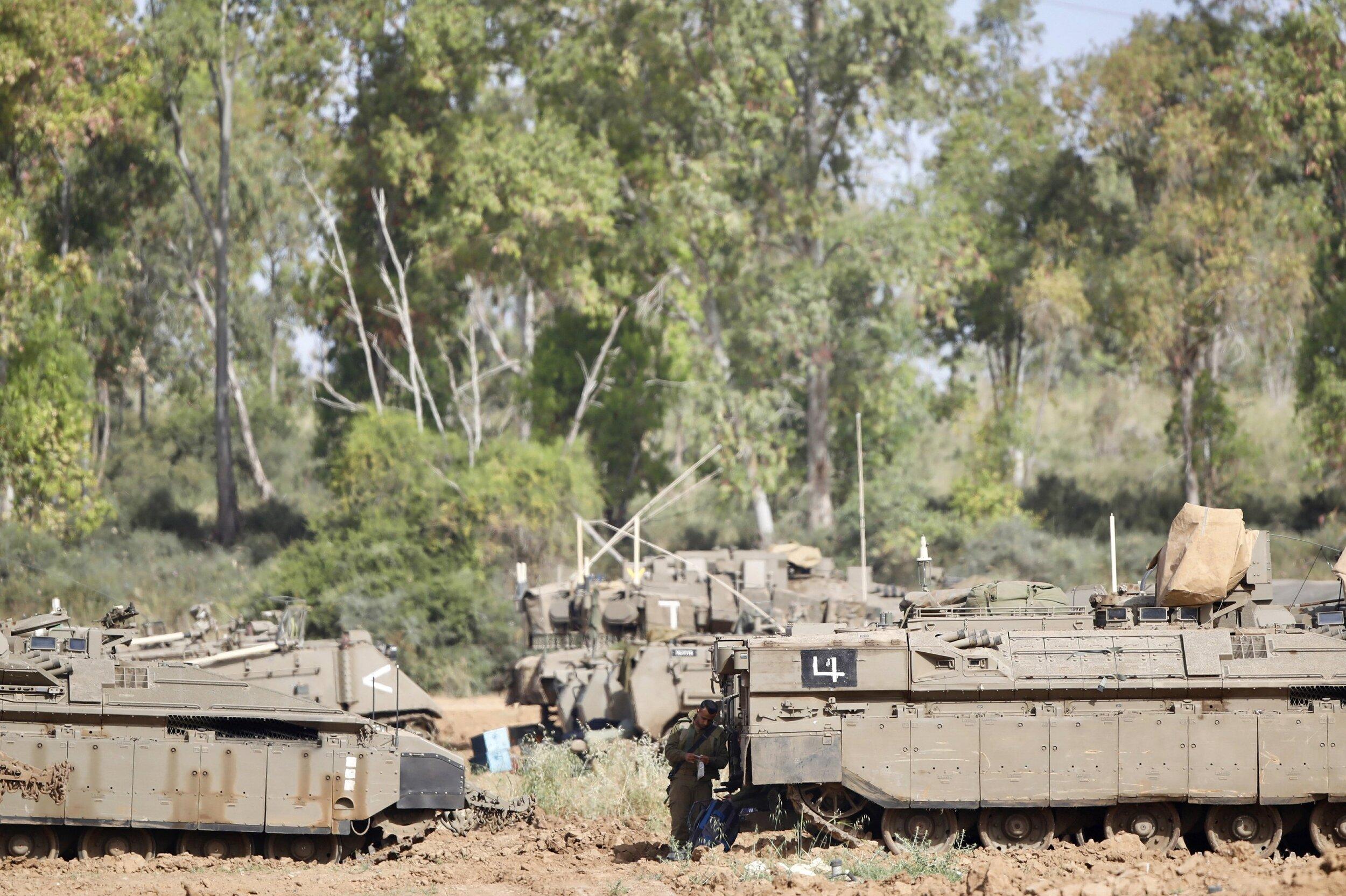 May 6, 2019, at the Israel-Gaza border