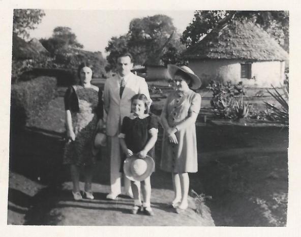 The Moszkowski family in Tengeru, Tanzania