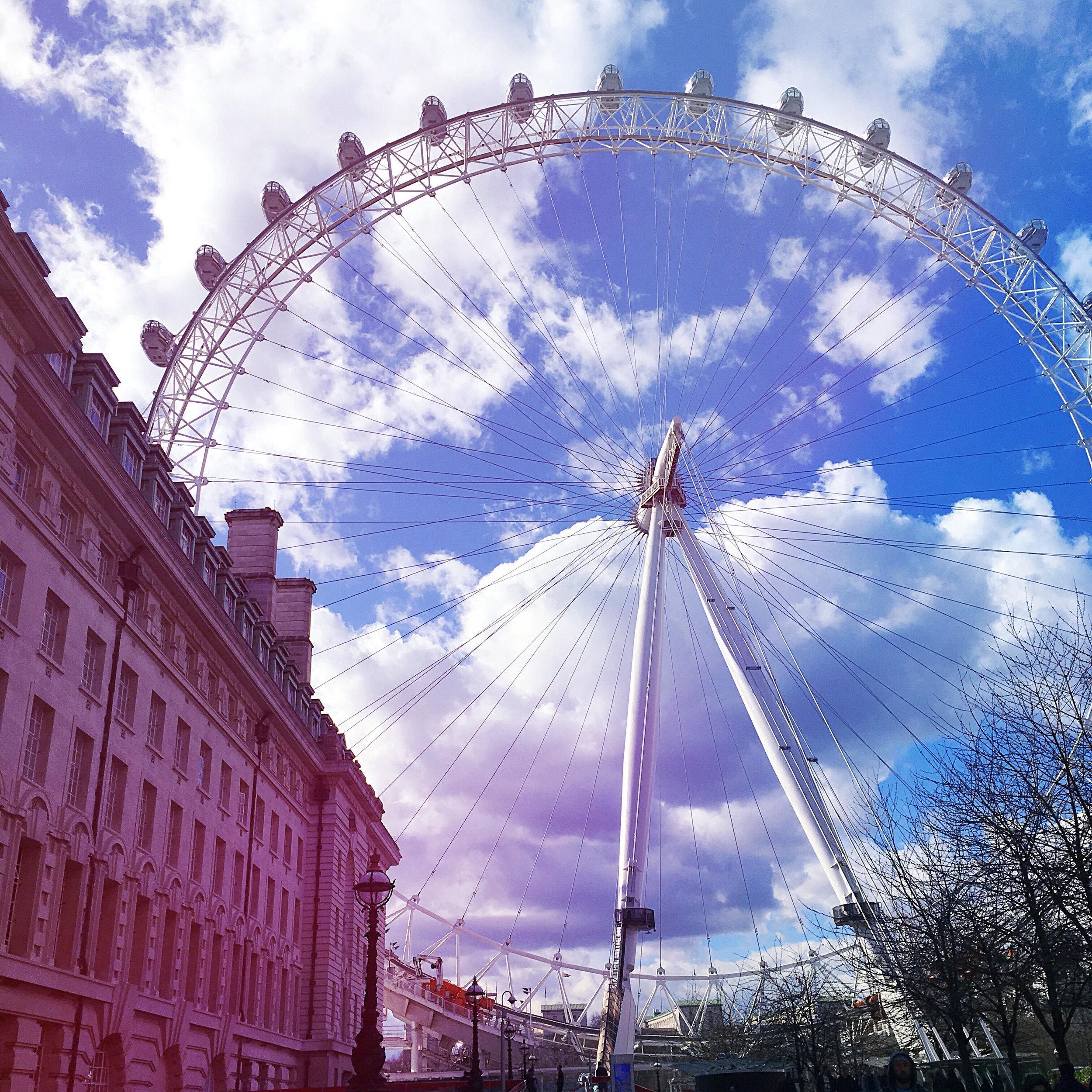 Traveling solo- London Eye