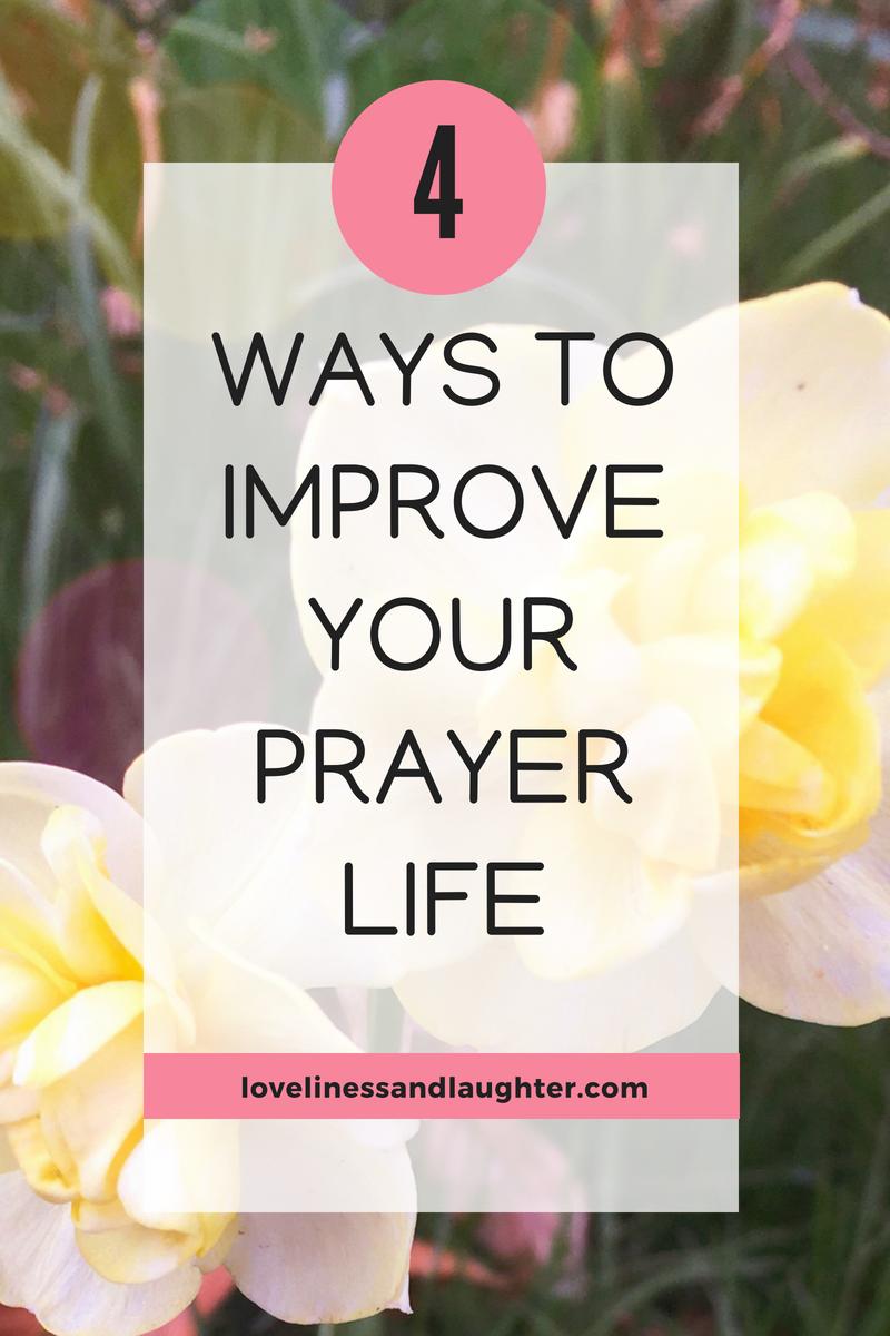 prayer life does god hear me