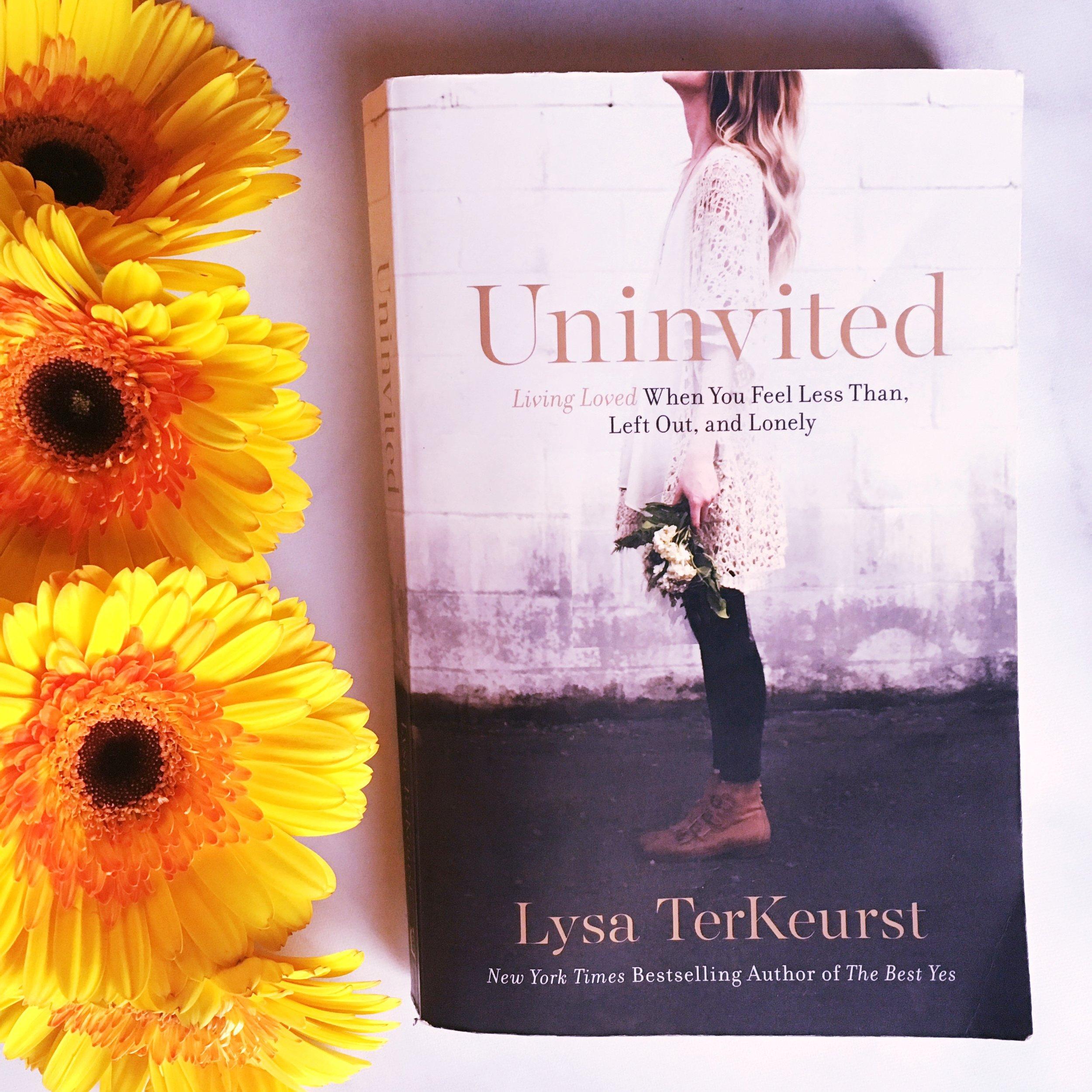 Uninvited Lysa terkeurst book recommendation