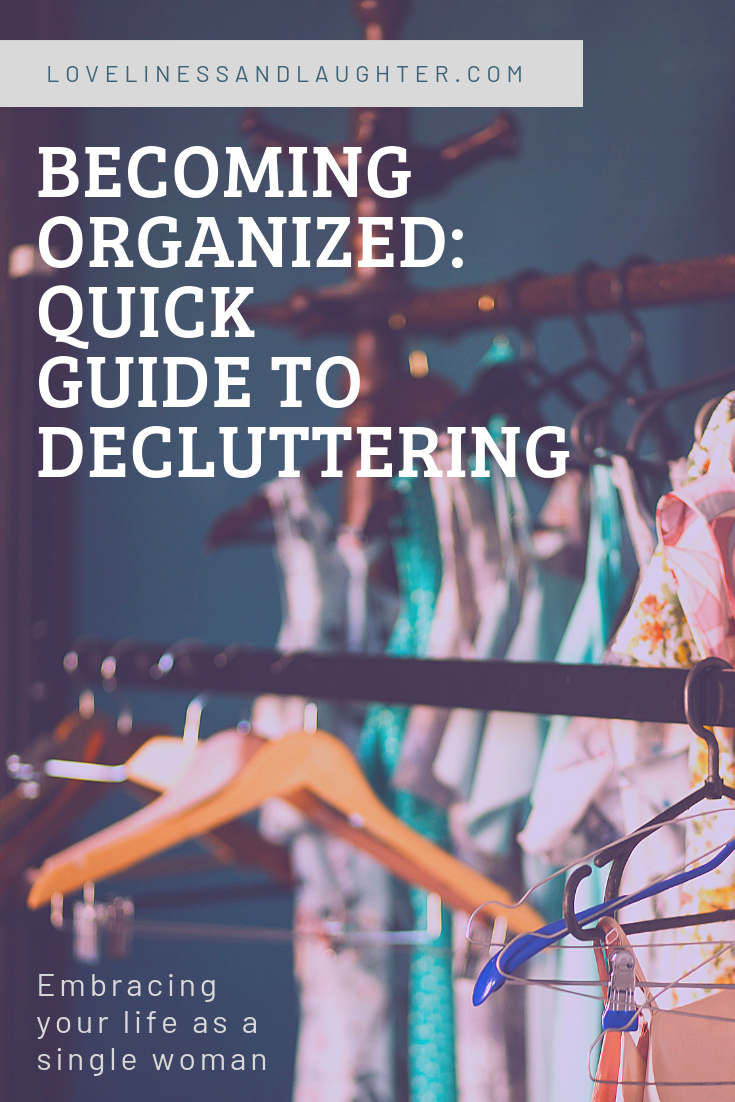 quick guide to decluttering