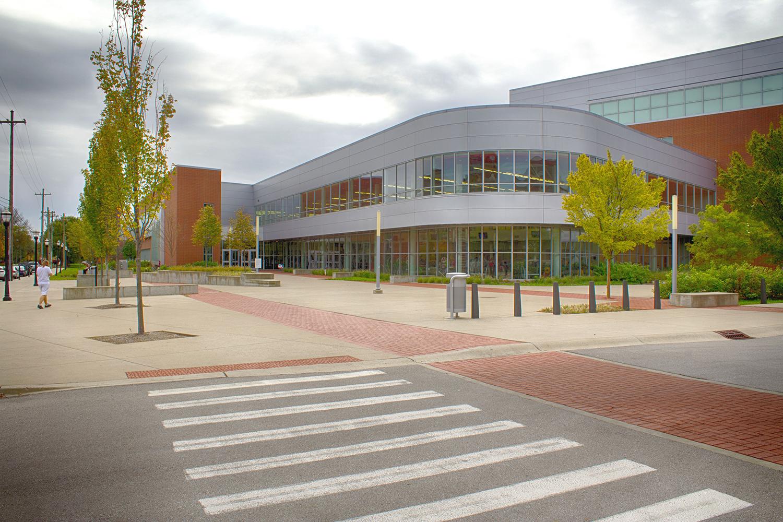 Recreation Center Entrance