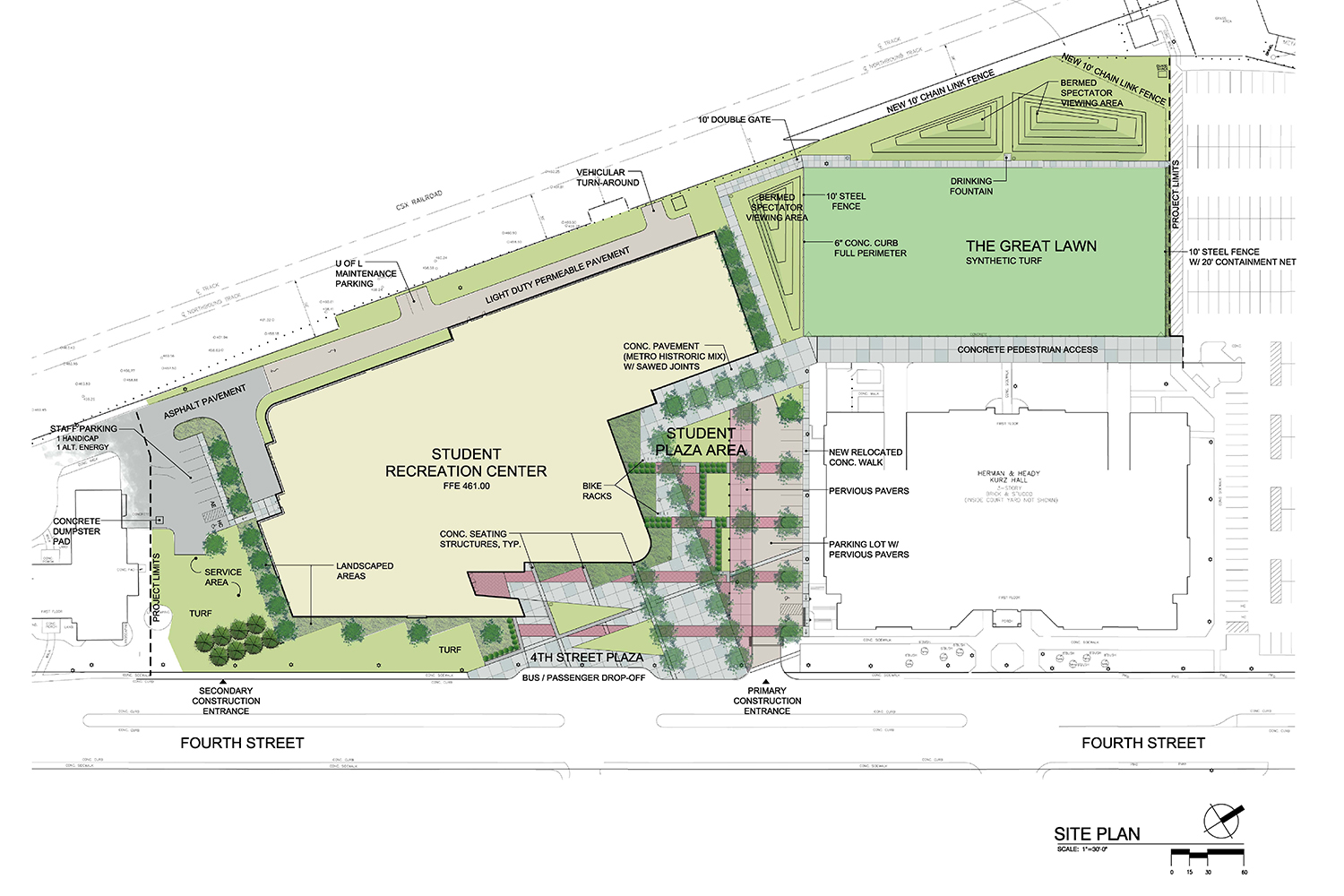 Illustrated Site Plan