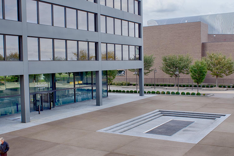 Restored North Plaza