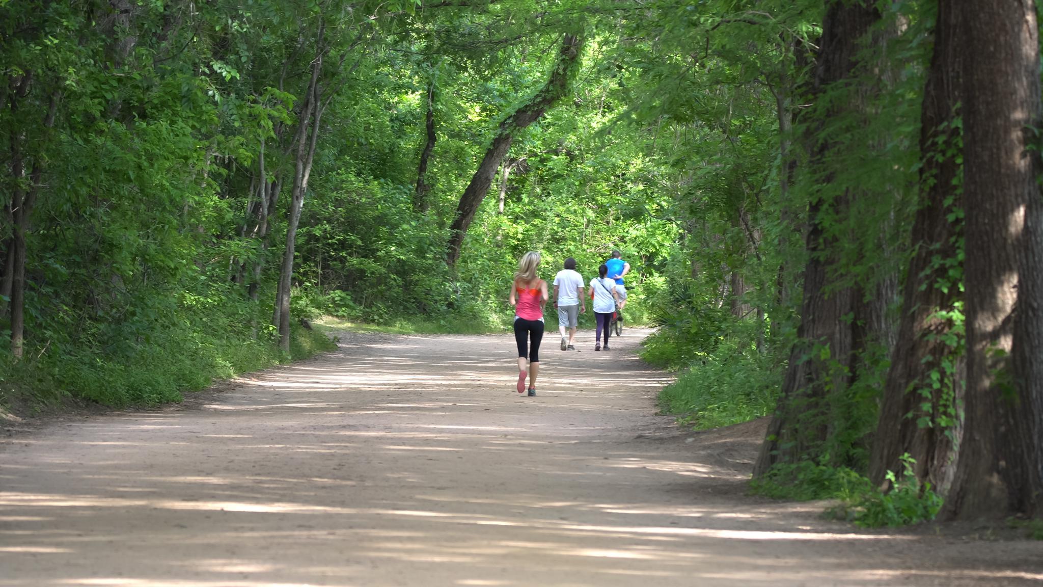 Hike n Bike along Ladybird Lake