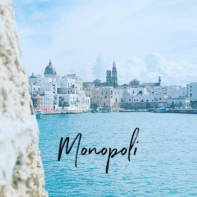 Why does #friendsinpuglia often Recommend basing your #Pugliatravel in Monopoli? Take a look at our Monopoli story to see what we ❤️ about this town.