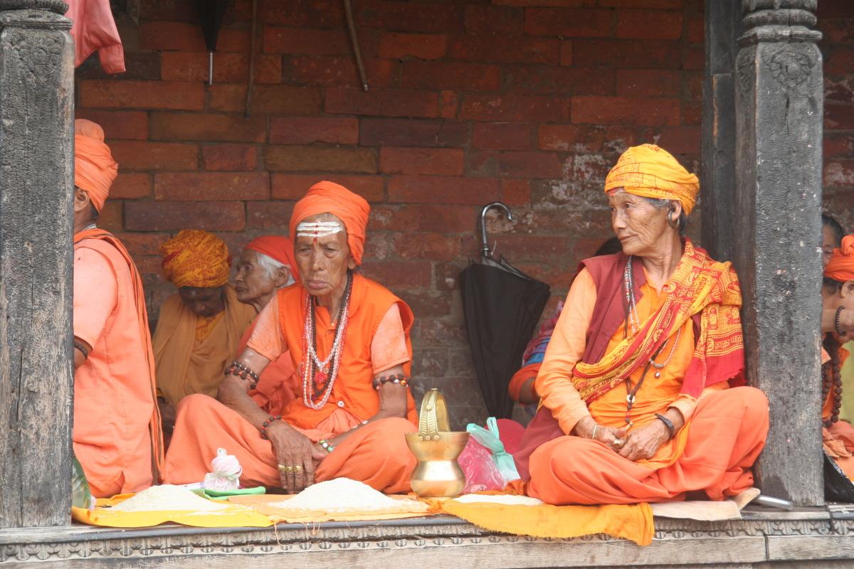 Women in Pashupatinath