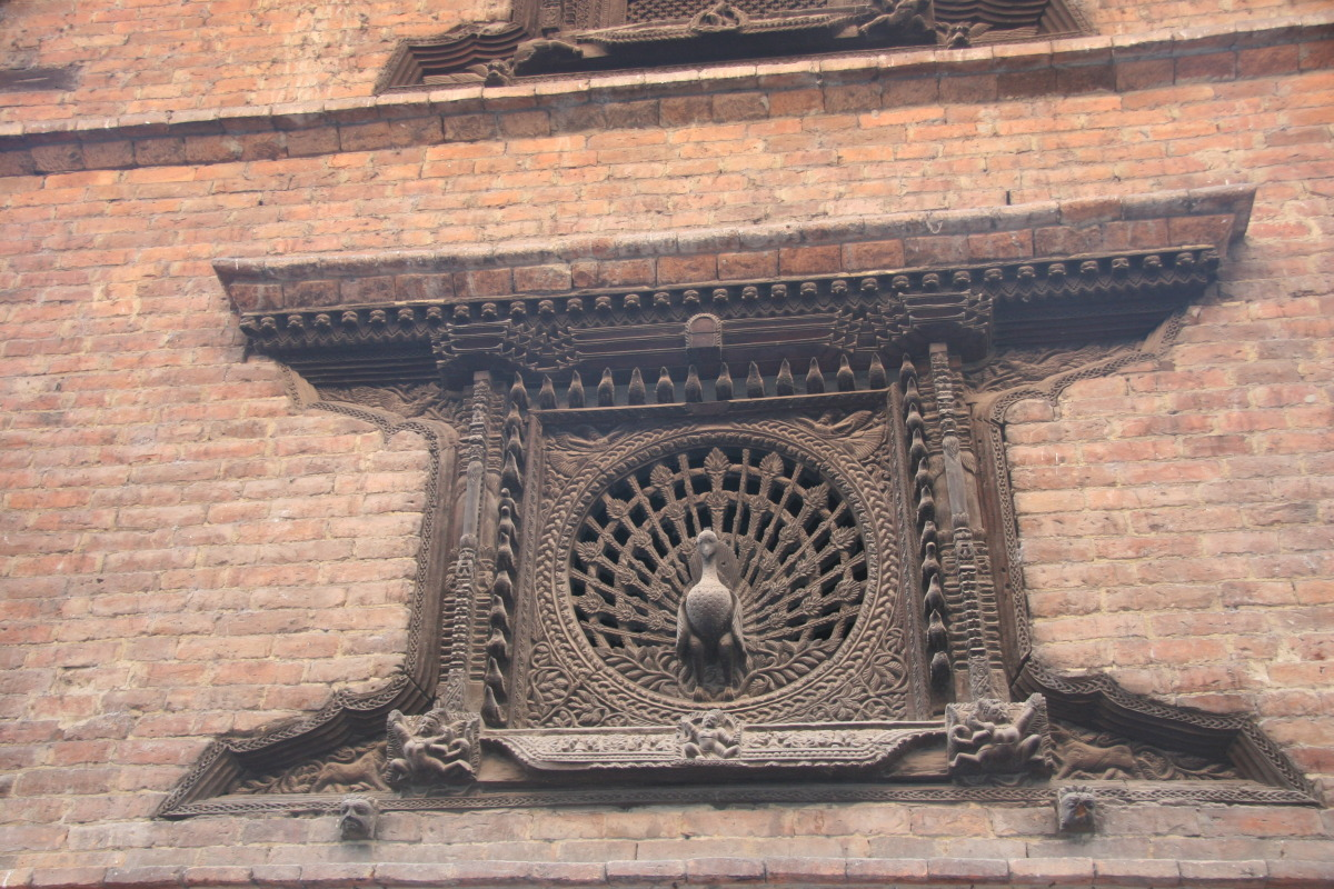 Peacock window in Bahktipur