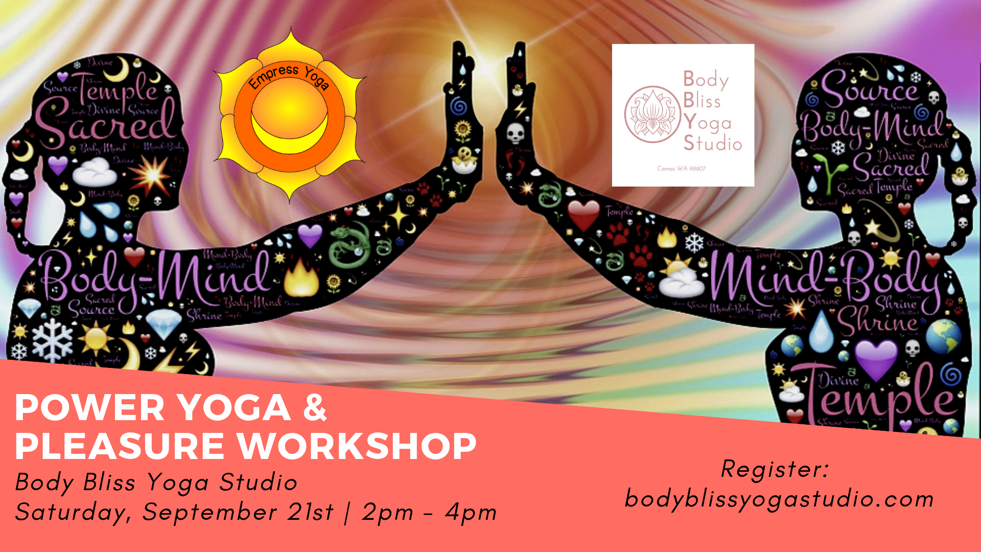 Power Yoga & Pleasure Workshop, empress yoga, camas, wa, body bliss yoga studio