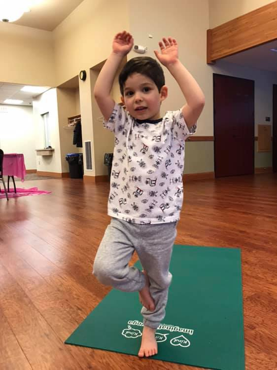 kids yoga, imagination yoga, camas, city of camas parks and recreation, mindfulness