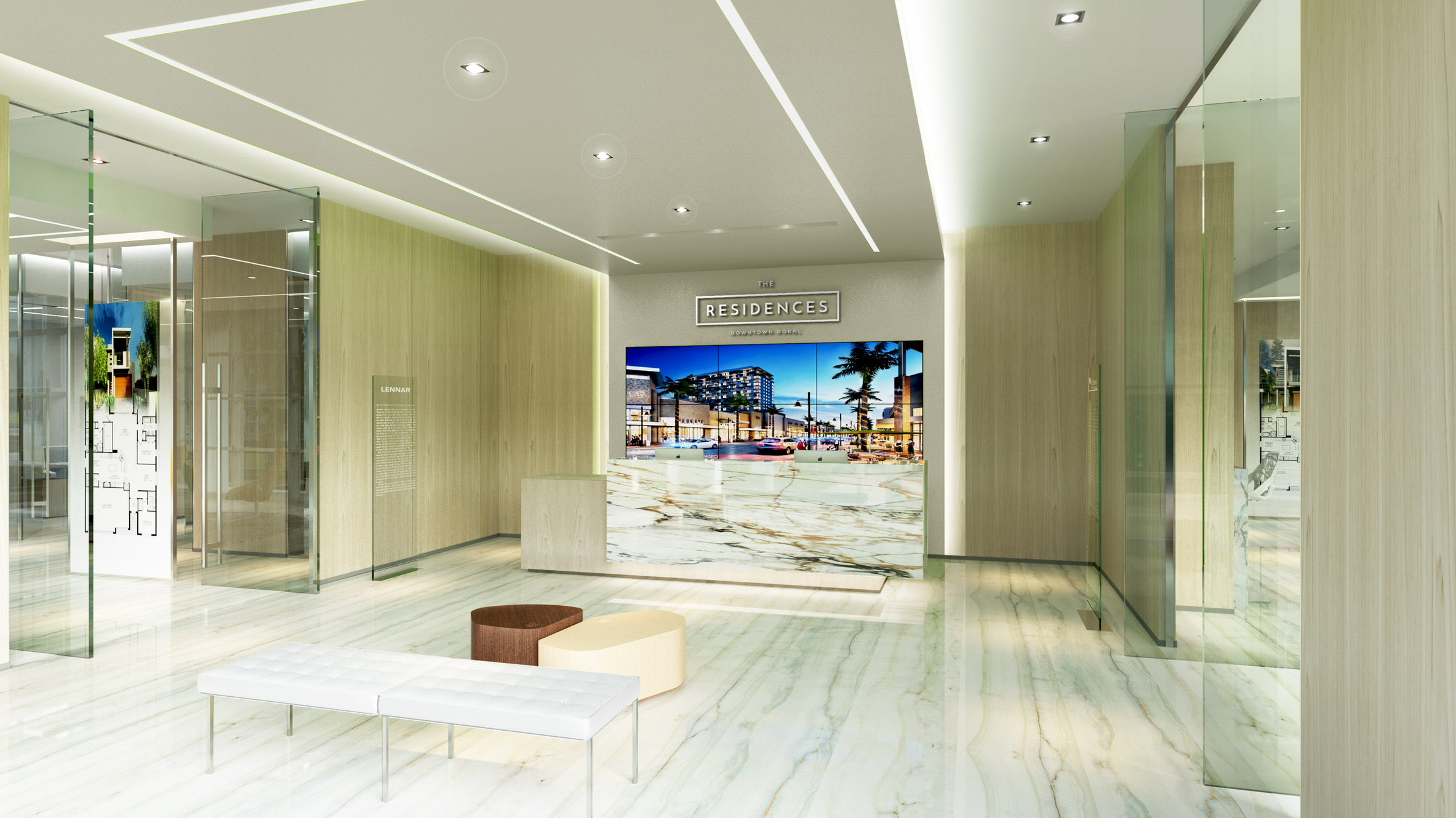 THE RESIDENCE SALES CENTER, DORAL