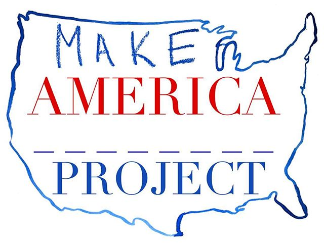 Greetings, makers! We're back and we're ready to roll!! . Check out our brand new raring to go Artists in Residence program at MakeAmericaProject.com . What are you up to this August-September? Are you a #maker with a #homeland inspired project in mind? Does the intersection of #travel and #art make you wild with creativity? We have the artist residency for you! . Check out the app to see which region to apply for and send us your info! Collaboration is the only way our country can heal: let's make collaborative art about it! . . . . #loveformaking #loveformakers #makeamericadream #makeamericaproject #hittheroad