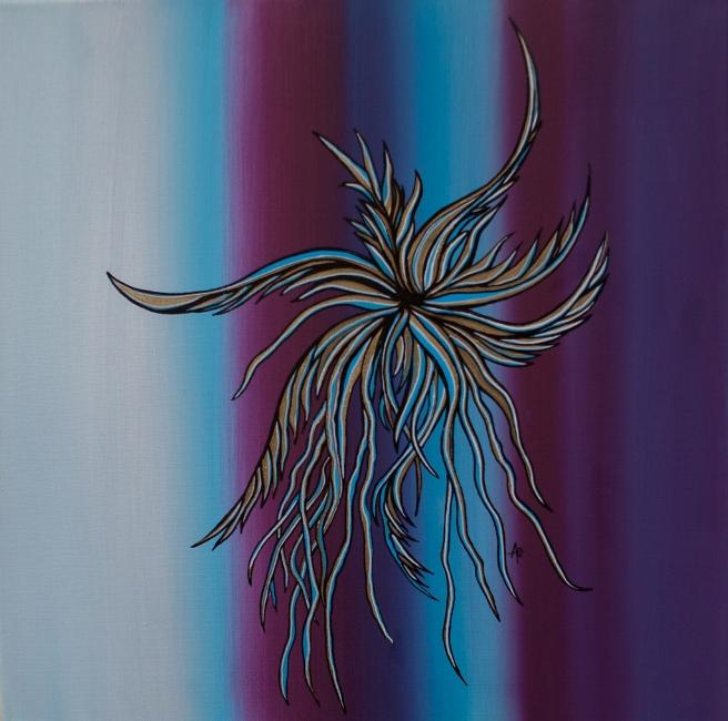 "ADRIFT    oil on canvas    Size:  20"" x 20"""