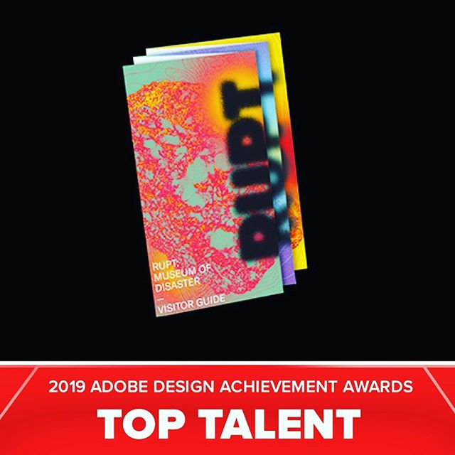 2 of my branding projects from last fall semester (for class with @minsuneo) were recognized as Top Talent by the Adobe Design Achievement Awards this year! @adobeawards