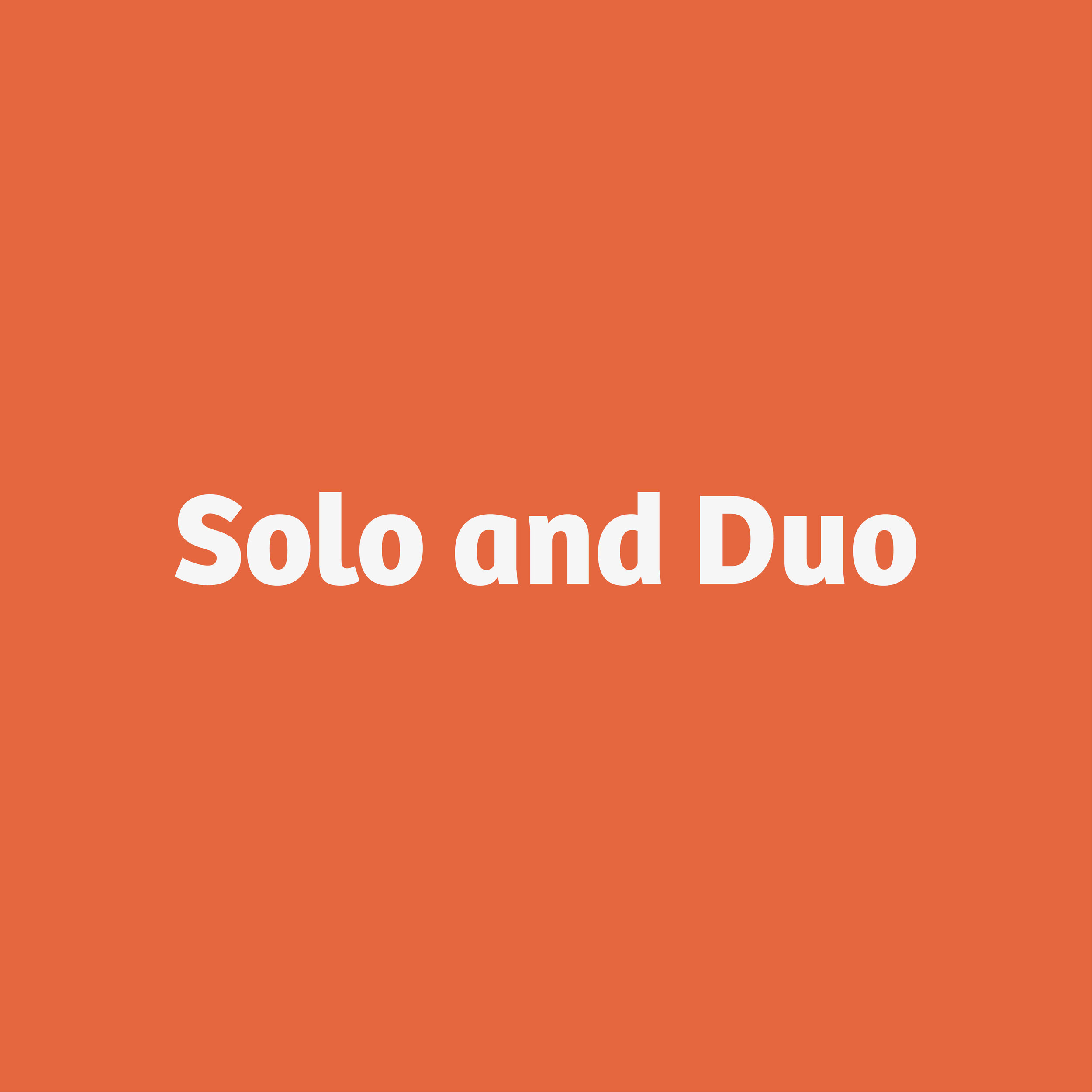 Solo and Duo button