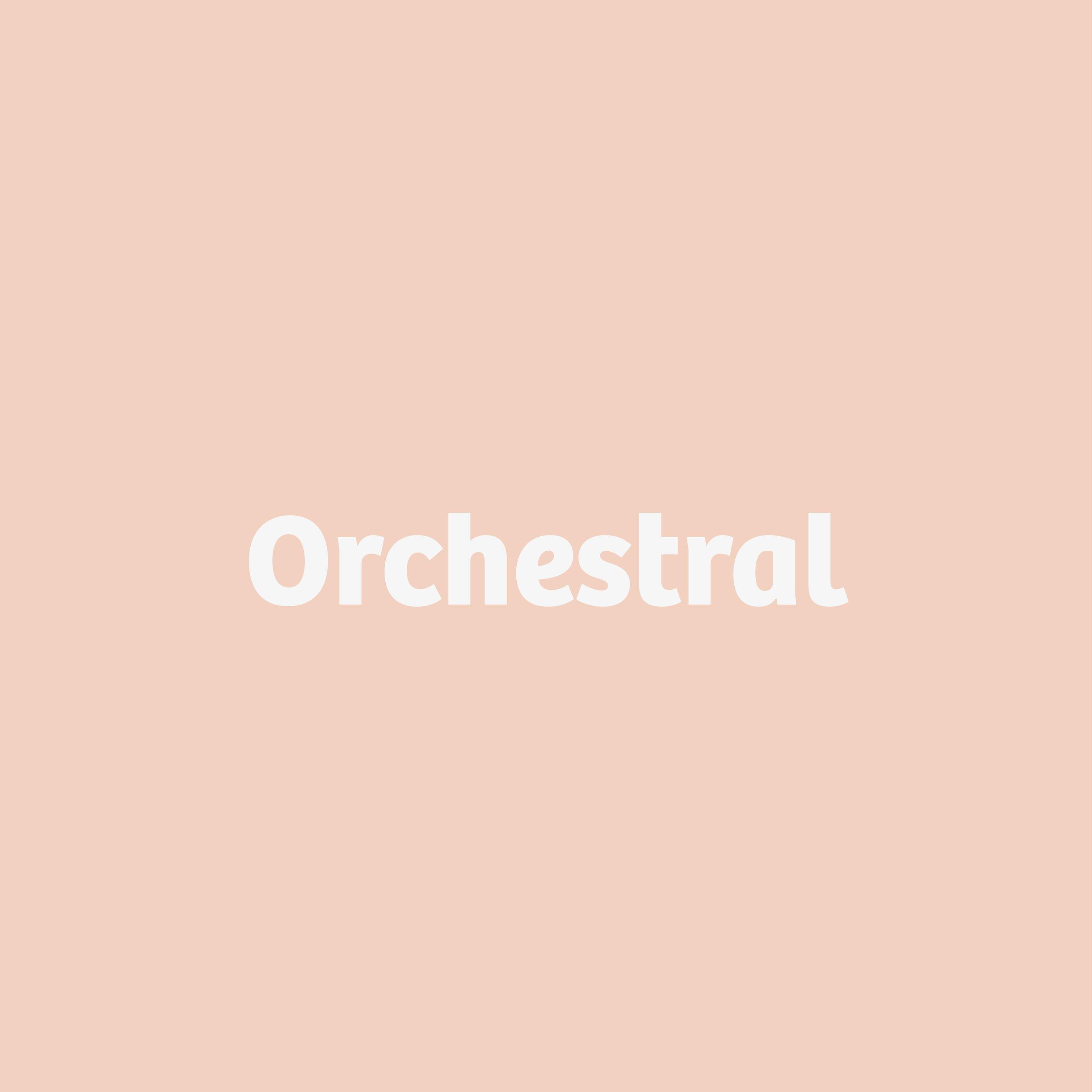 Orchestral button
