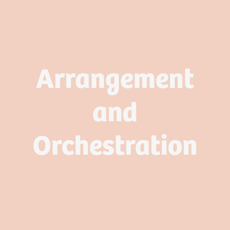 Arrangement and Orchestration button