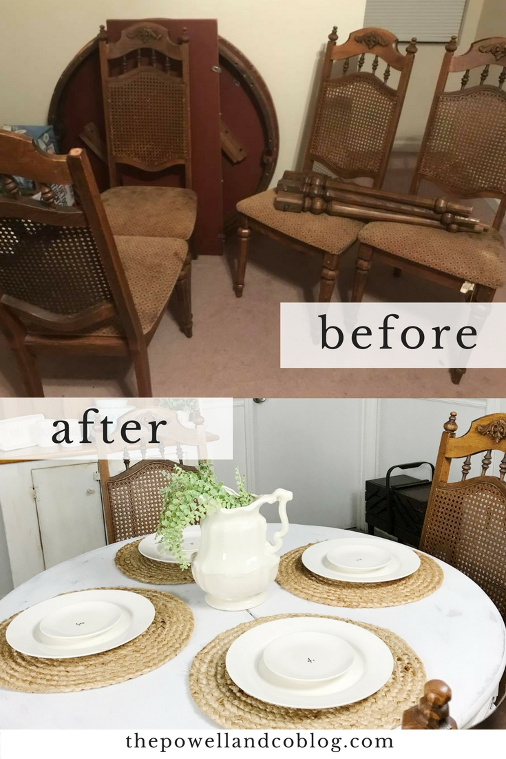 beforeandaftertable
