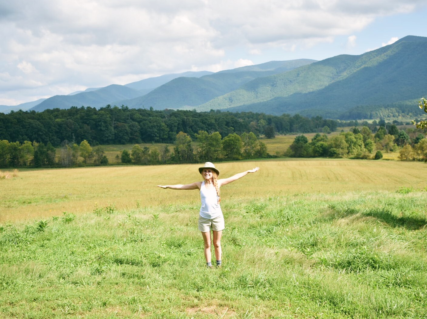A Drive Through Cades Cove in Great Smoky Mountains National Park