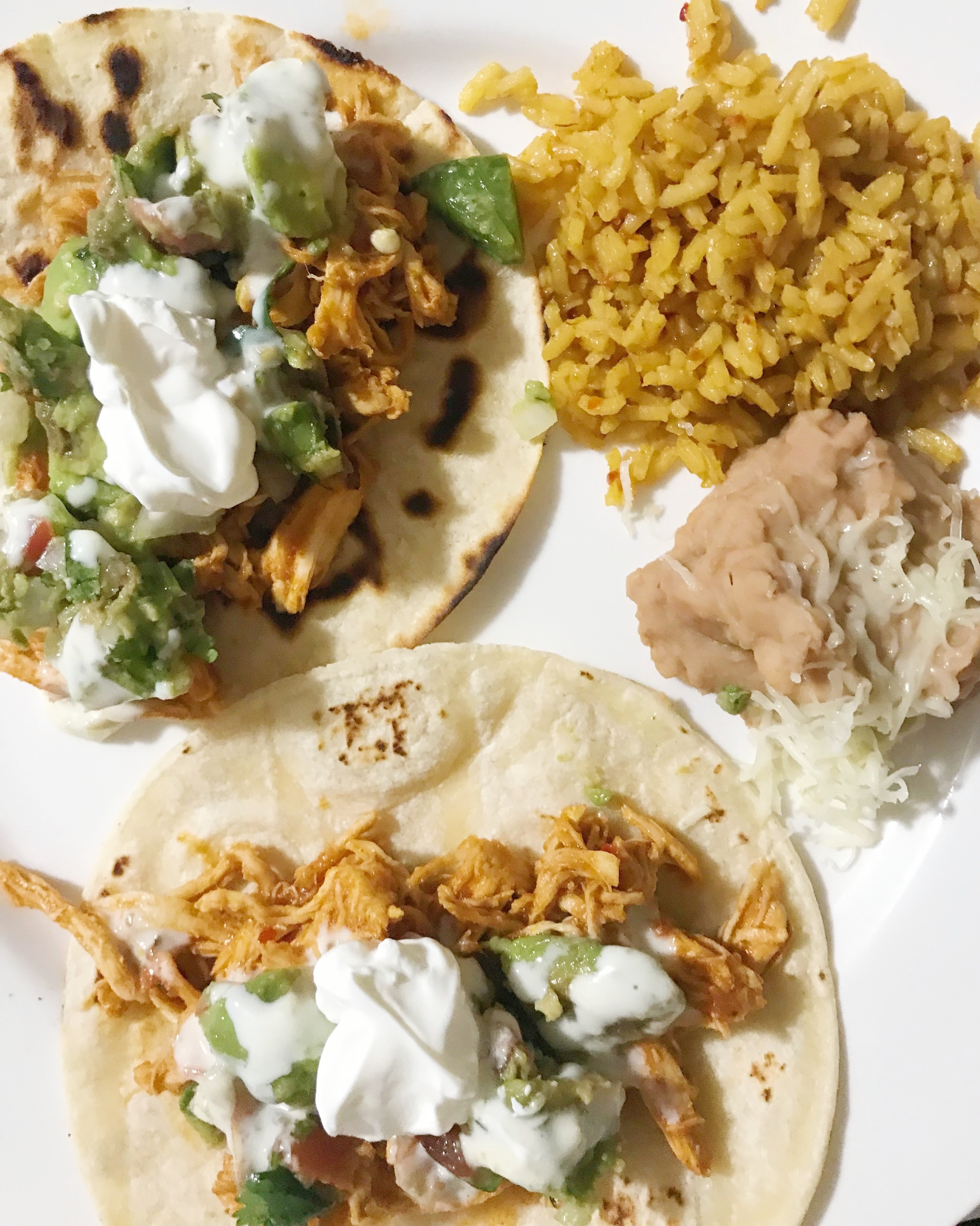 quick and easy spicy chicken tacos