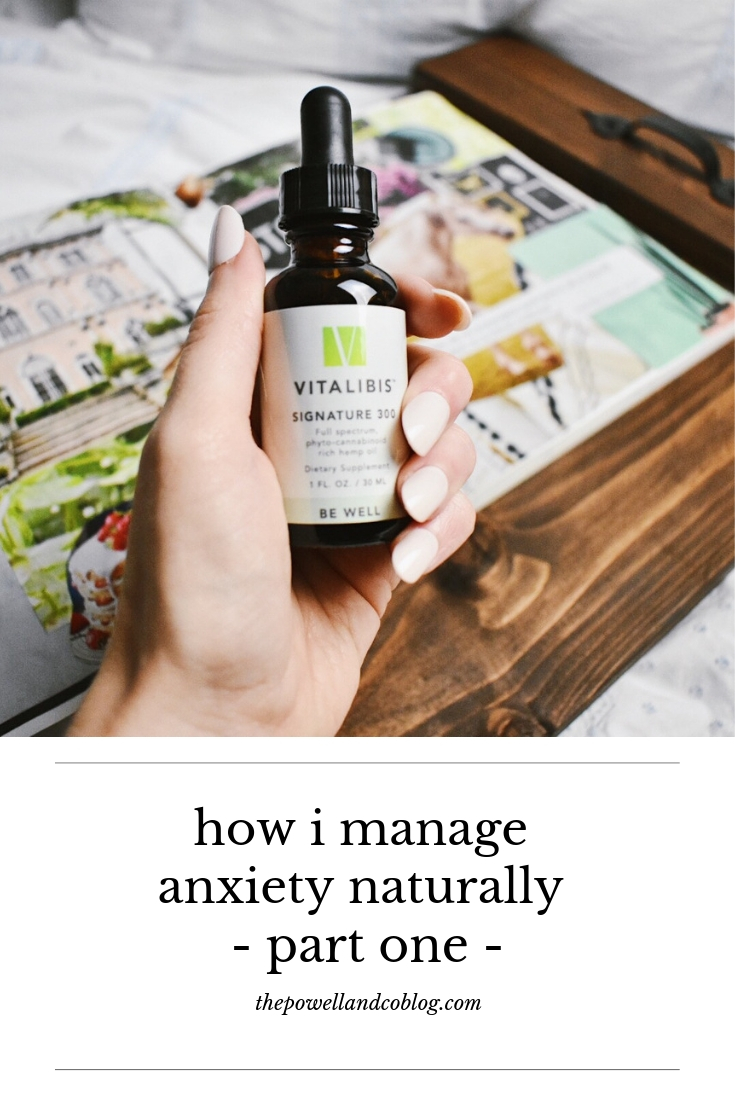 how i manage anxiety naturally