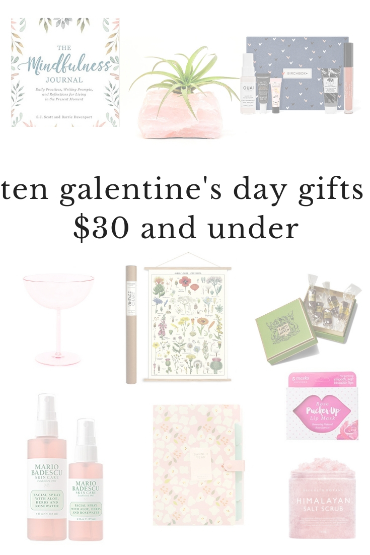 valentines day gift guide all under $30