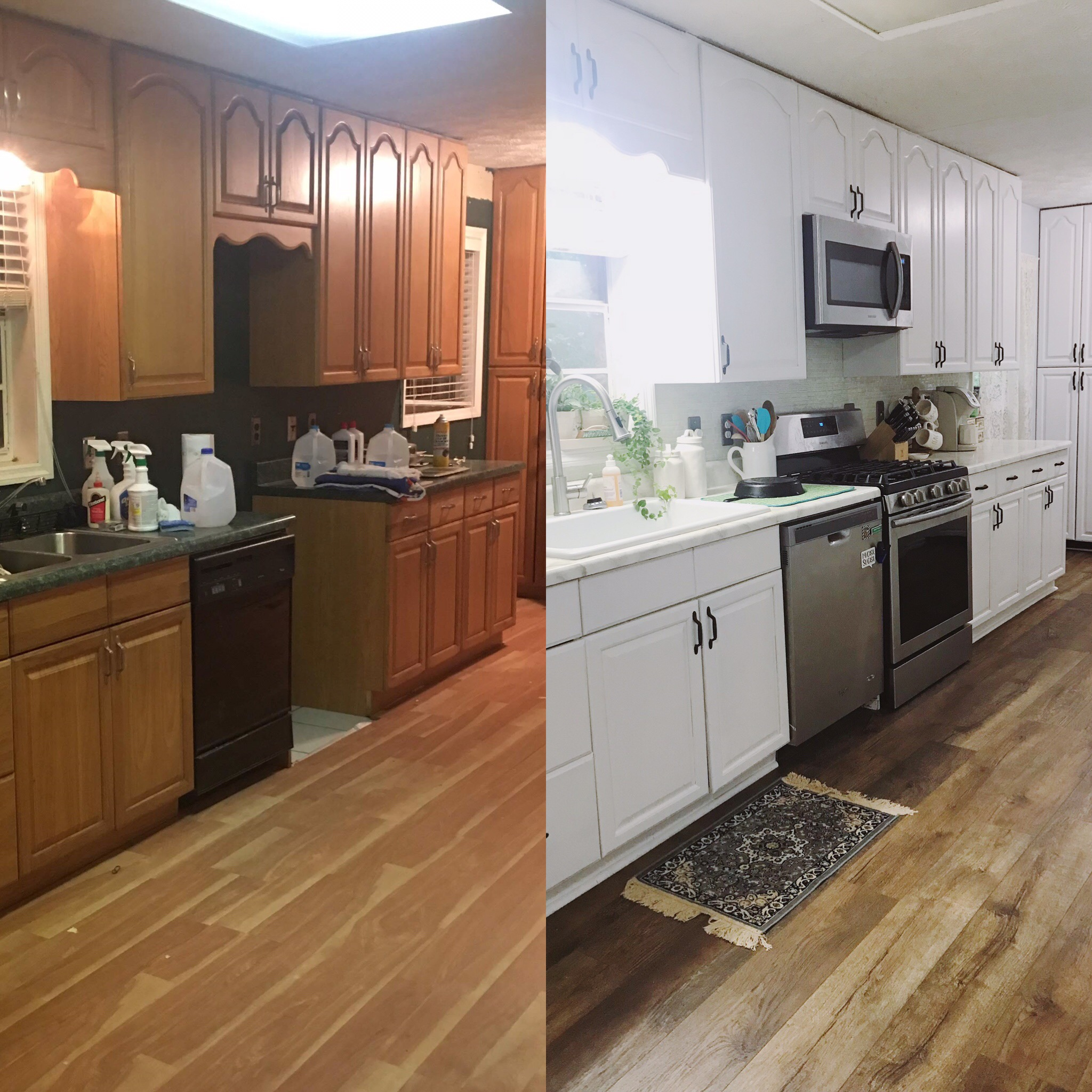our diy kitchen renovation reveal