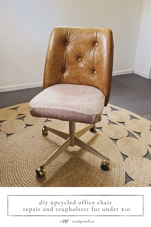 Diy Upcycled Office Chair Repair And