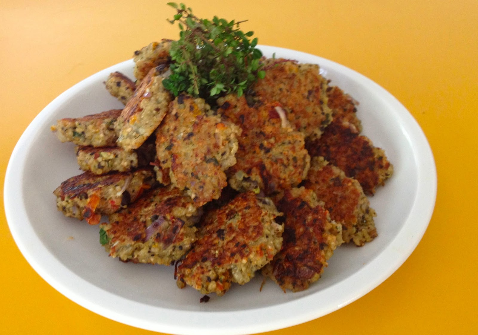Quinoa patties  Quinoa patties are yummy, nutritious and good for any occasions.