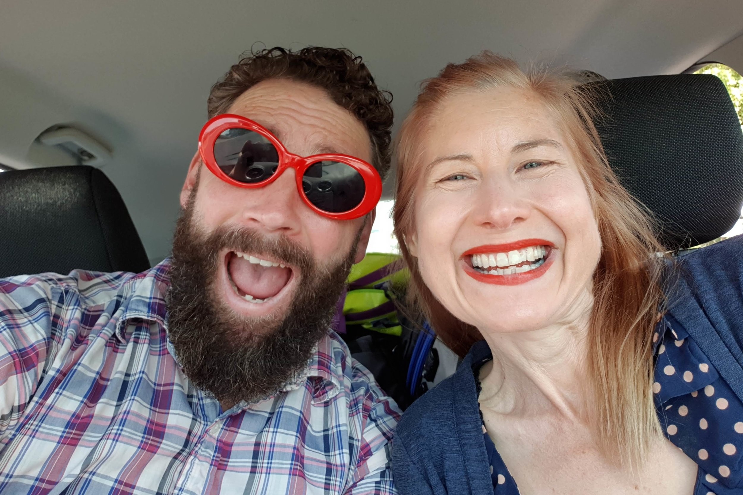 Road trip time with my awesome wife Mary!