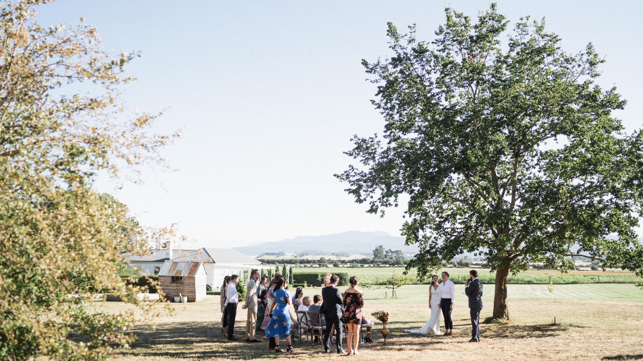 The beautiful setting for an intimate wedding. Photo credit:   Thom Stewart