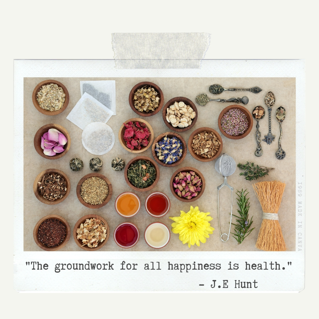 %22The groundwork for all happiness is health.%22 -J.e. Hunt.jpg