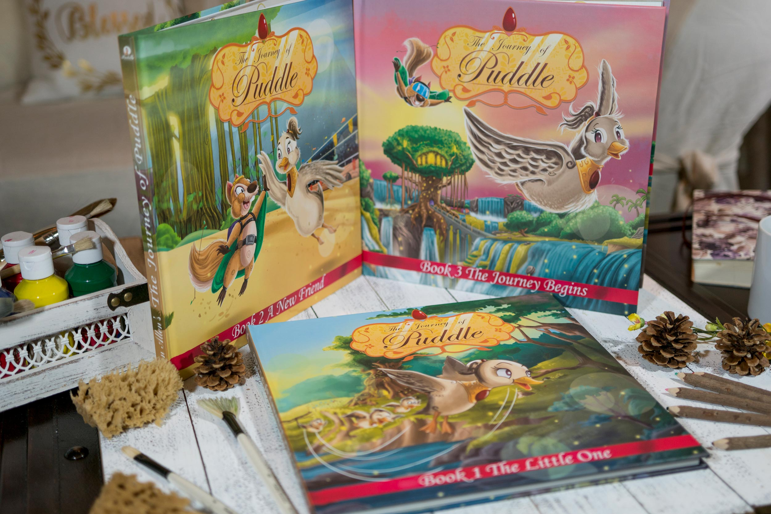 Journey of Puddle - Christian Illustrated Children Books