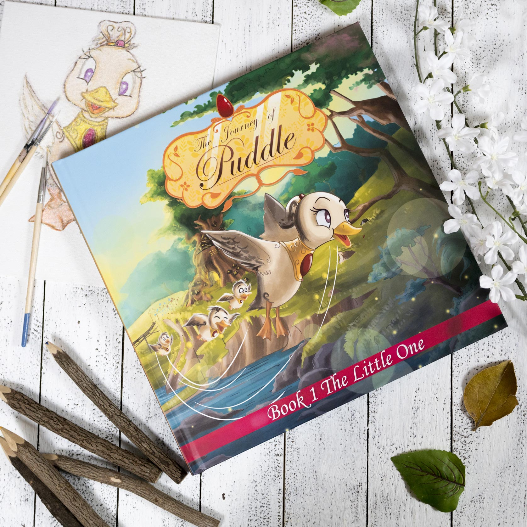 Journey of Puddle - Book 1 - The Little One