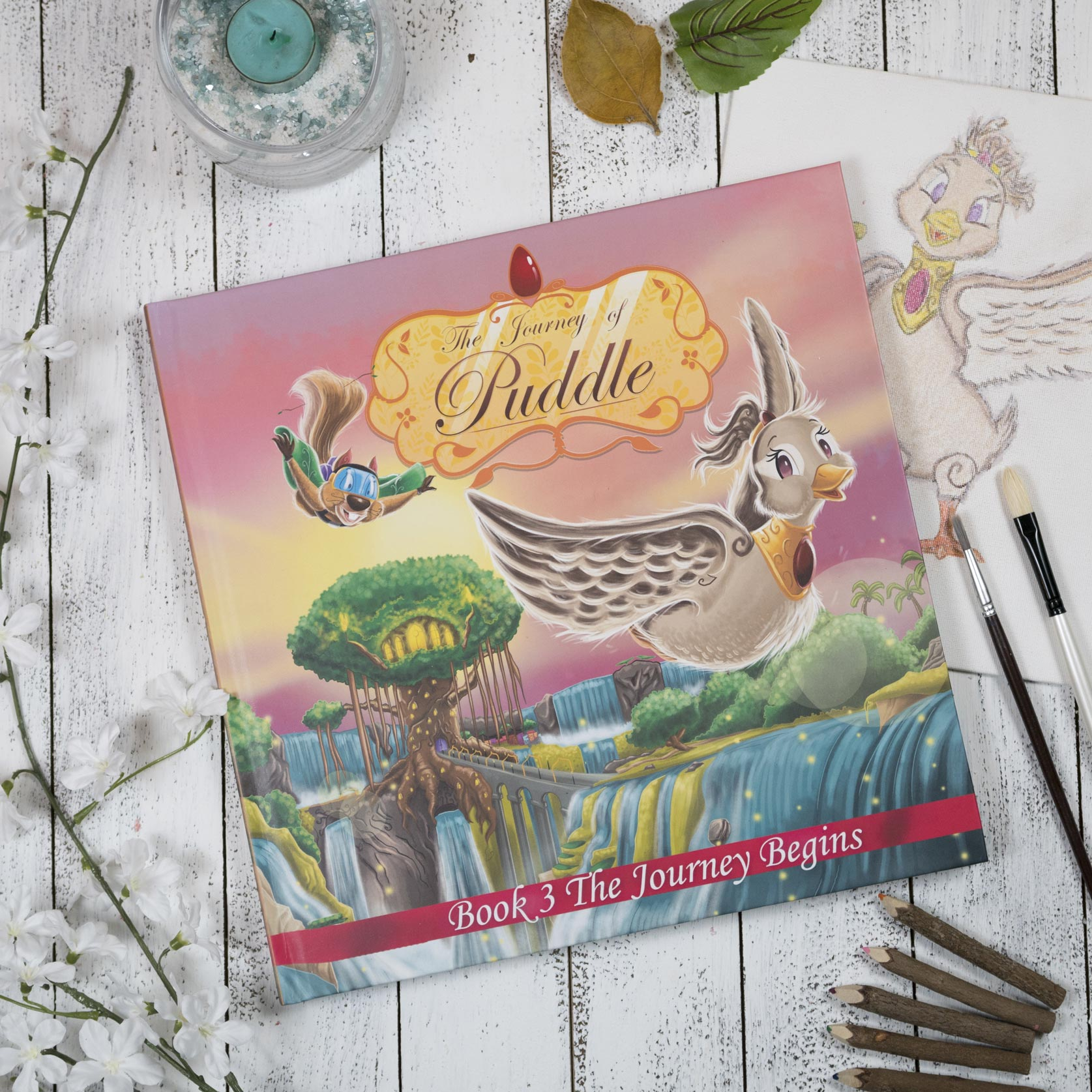 Journey of Puddle - Book 3 - The Journey Begins