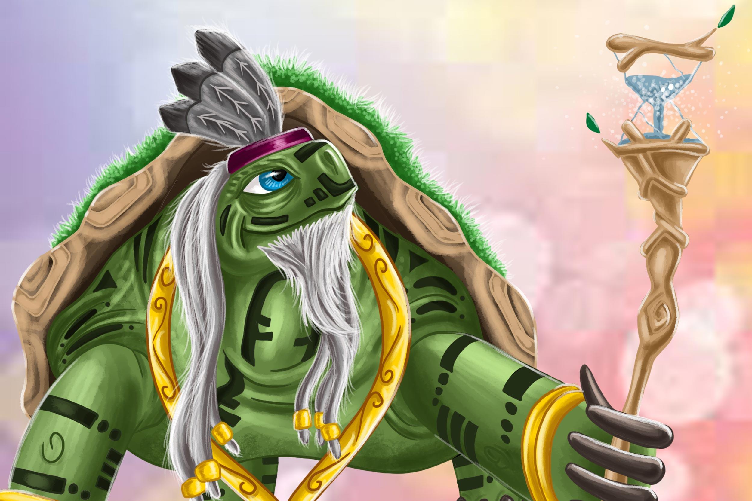 Illustrated Character - Elderon