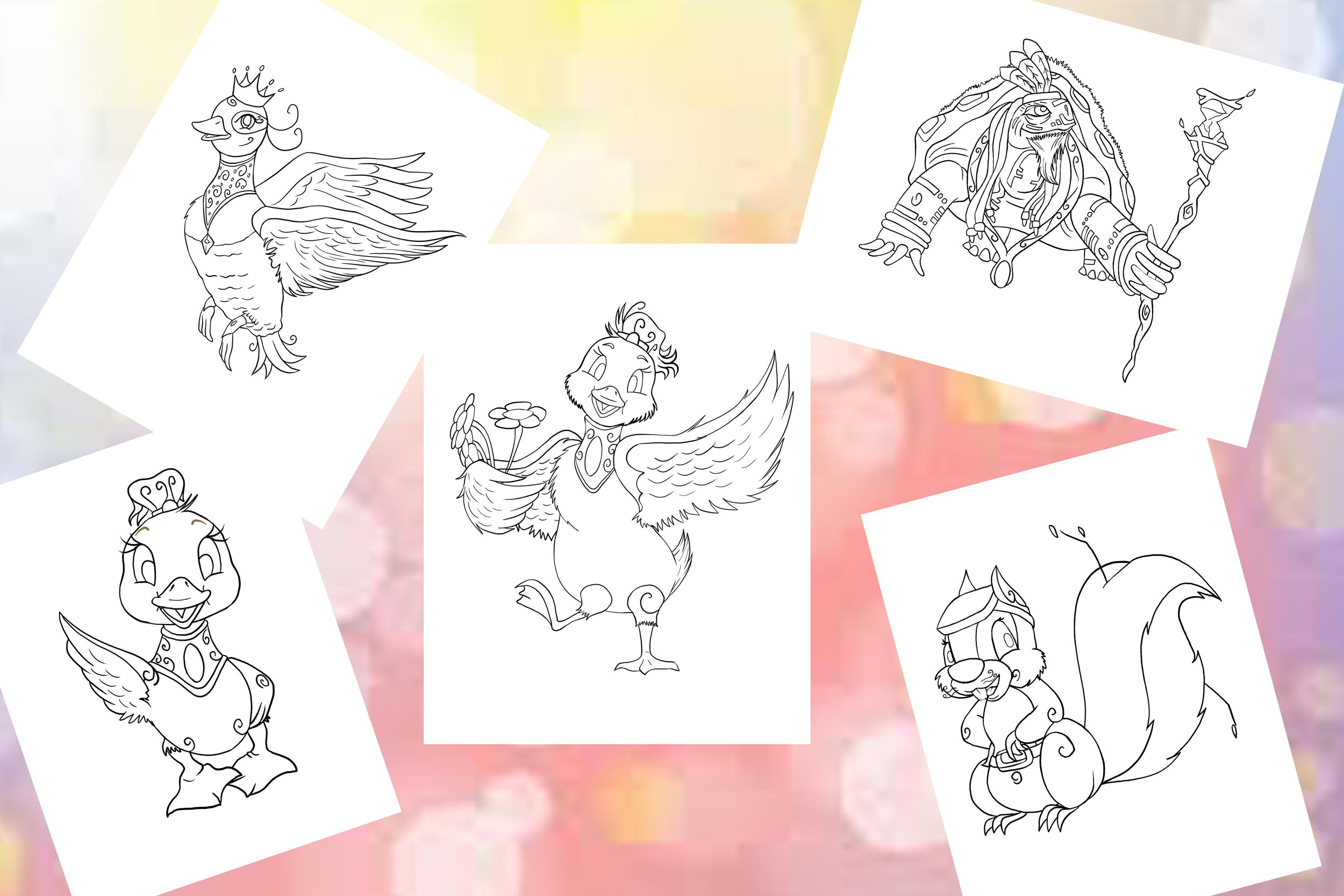 Journey-of-Puddle-download-free-coloring-pages.jpg