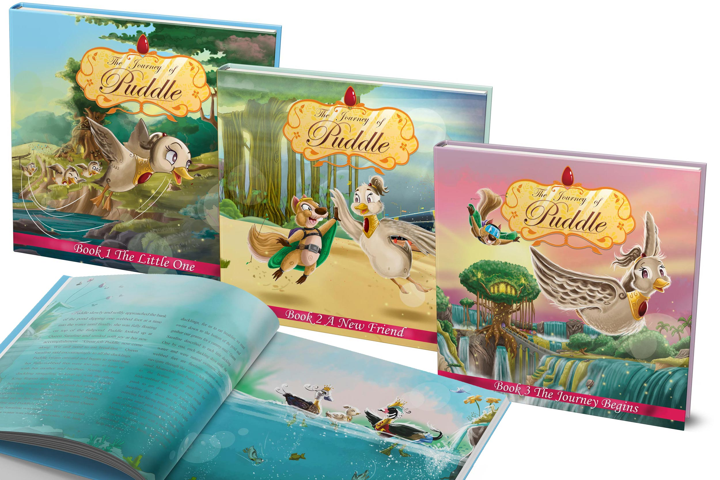 Your Faithful Adventurous Story Time Awaits… - Journey to the Land of Creation where Princess Puddle awaits to take you and your little ones on an adventure of a lifetime! From the mind of the emerging author, Devon Allen comes a fully illustrated trilogy beautifully designed to capture the hearts of everyone. With a story themed around a family bond, exhilarating flying action sequences, everlasting friendships and undeniable faith through it all…The Journey of Puddle is sure to keep your little ones engaged to the very last page!