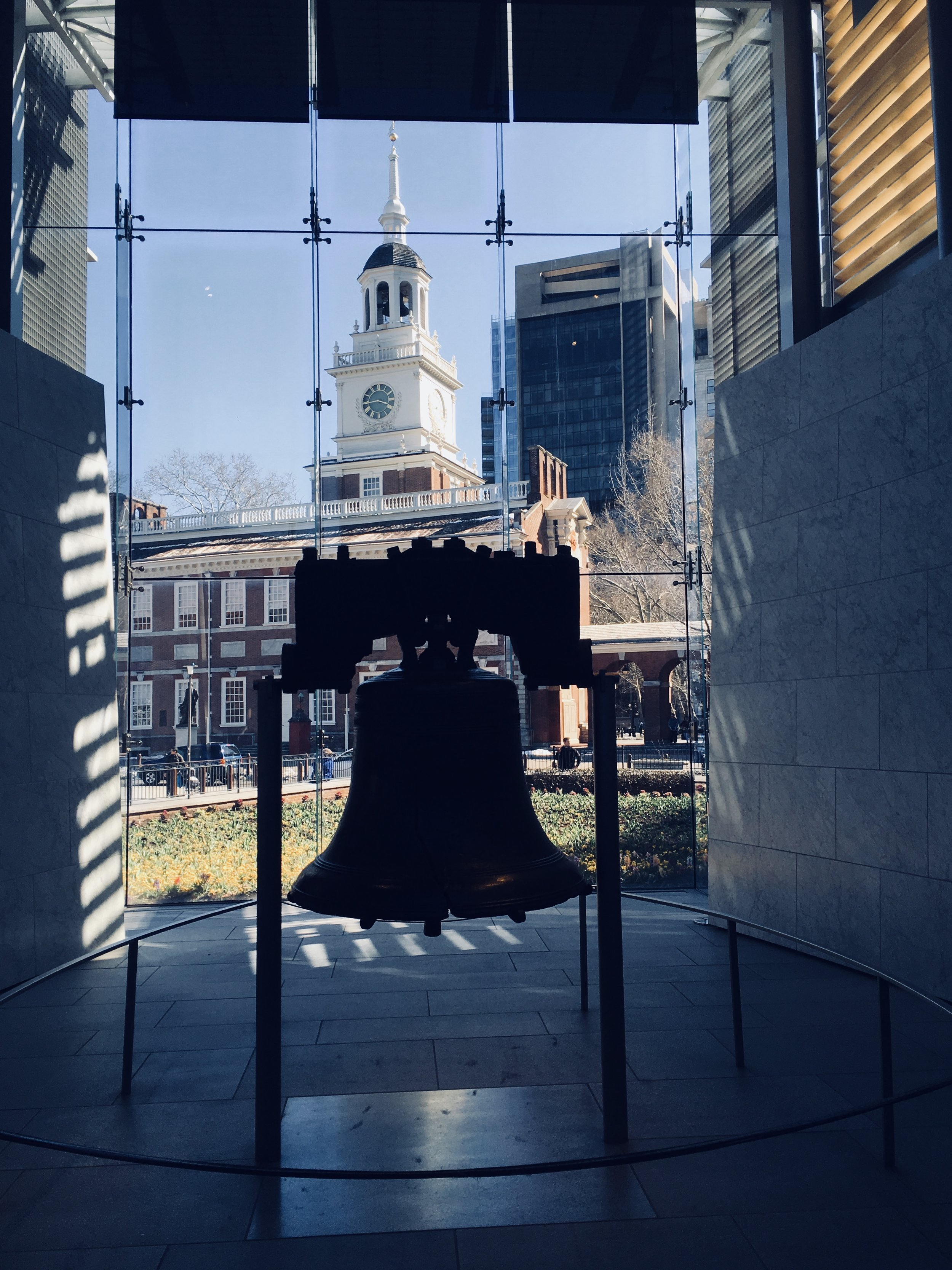 Liberty Bell in Independence Mall