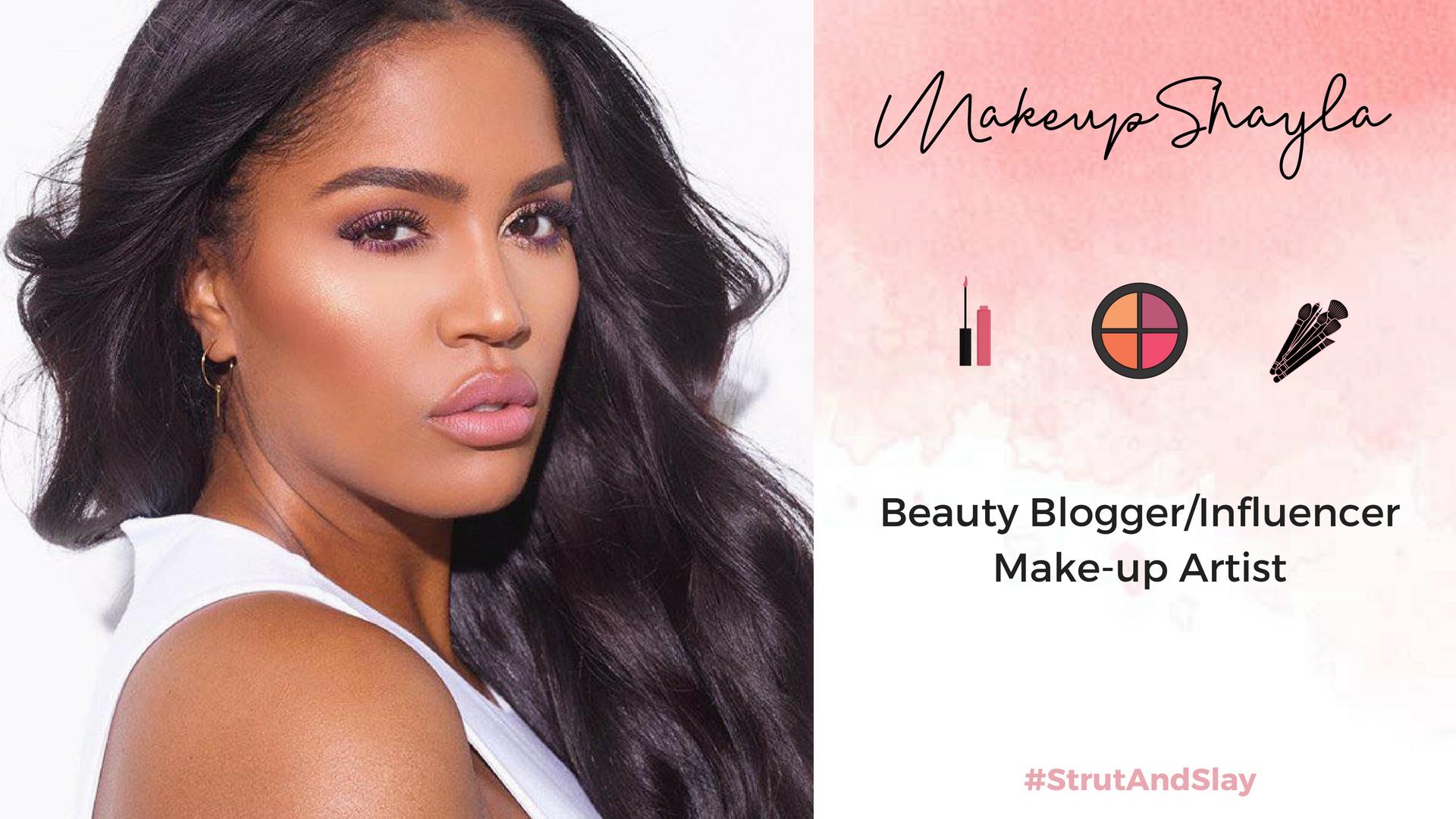MakeupShayla Media Kit