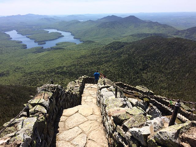 For some joint birthday celebrations, my ma and I hit up Lake Placid, NY. Other than feeding half the black fly population with the blood from my sacrificial right eye, my ma and I mainly meandered through what the area has to offer. Happy Birthday Kit-Kat! . . #lakeplacid #birthdays #whitefacemountain #mirrorlake #upstatenewyork #getoutside
