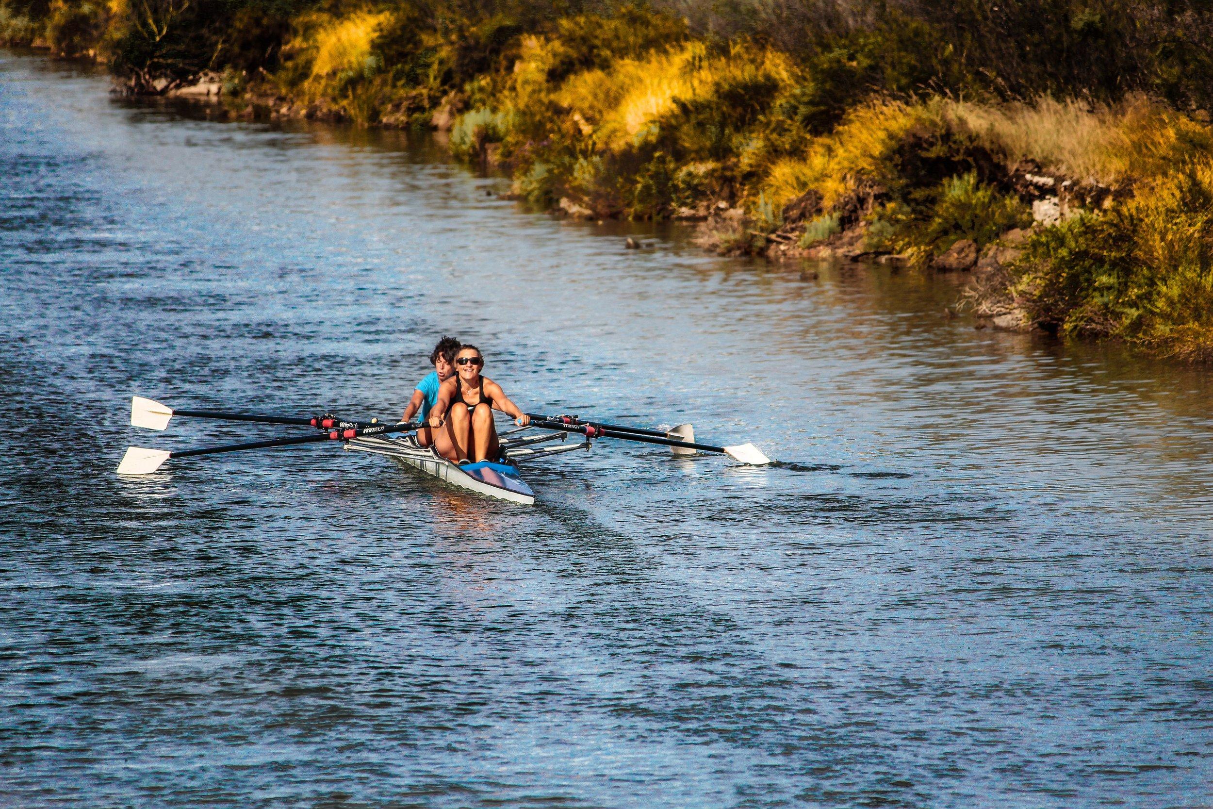 Varsity Rowing, one of many sports at Princeton