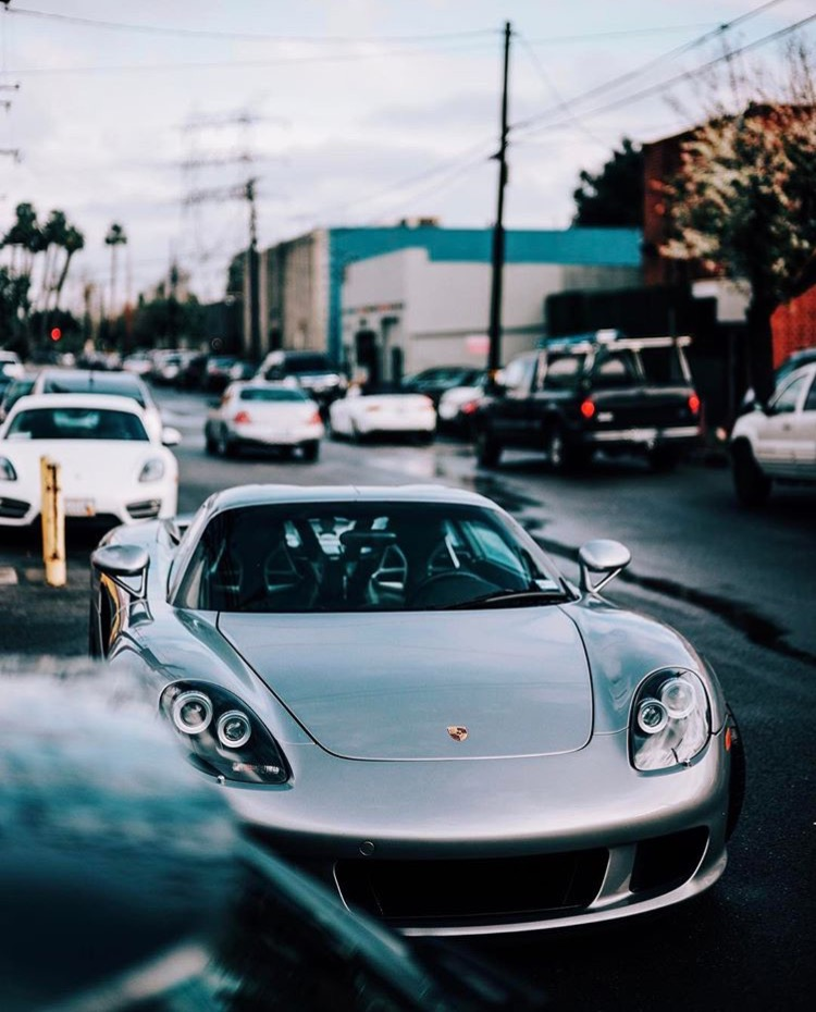 The Porsche Carrera GT