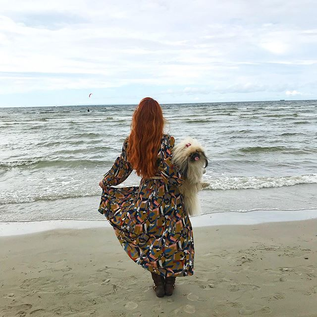 At the Baltic Sea with my Bae 🐾🌊